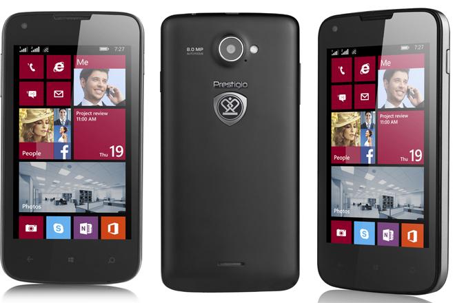 Multiphone 8400 DUO y Multiphone 8500 DUO : Las apuestas Windows Phone de Prestigio