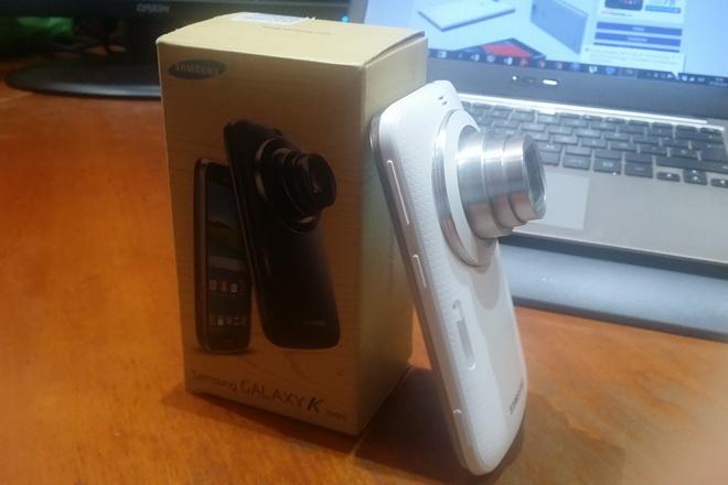 Samsung Galaxy K Zoom: analizamos el híbrido smartphone-cámara