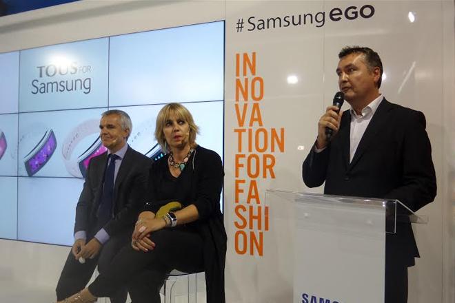 Samsung Gear Fit TOUS
