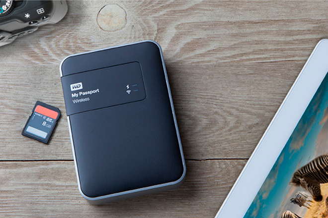 WD My Passport Wireless: Disco duro portátil de 2TB con WiFi integrado