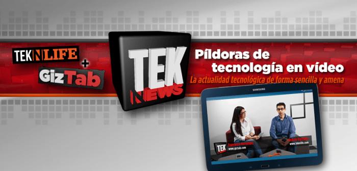 TekNews: Estrenamos píldoras de tecnología en vídeo