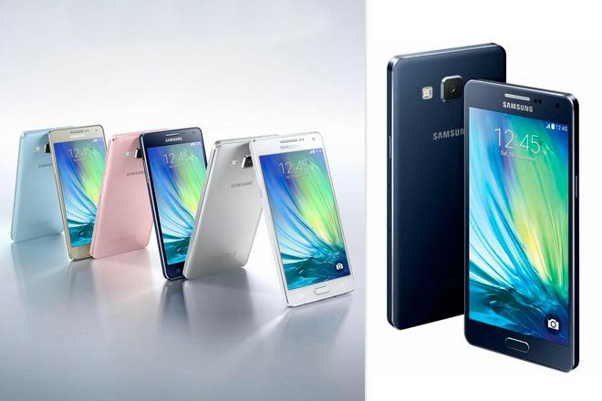 Samsung Galaxy A5 y Samsung Galaxy A3: Metálica delgadez