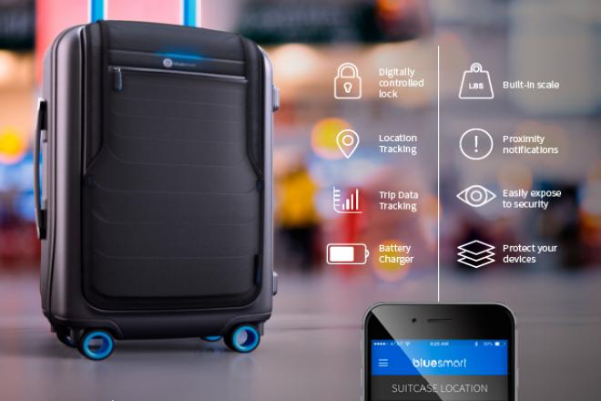 Bluesmart: la primera maleta inteligente, busca financiación