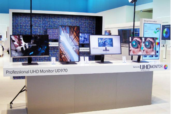 Samsung UD970: el primer monitor profesional UHD