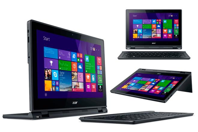 Acer Aspire Switch 12: Notebook que se adapta a 5 modos