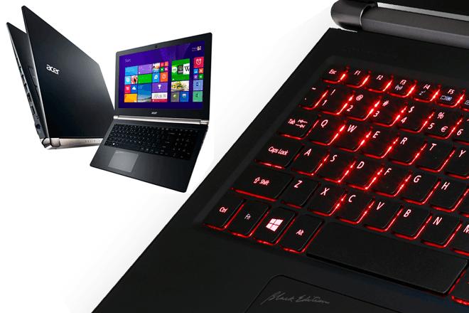 Acer añade pantalla 4K UHD a su gama Aspire V Nitro Black