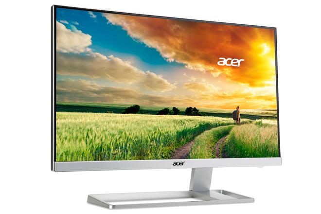 Acer S277HK: Monitor 4K2K con HDMI 2.0 y marco Zero