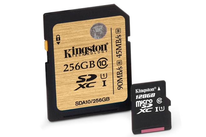 Kingston ha duplicado capacidad de sus tarjetas de memoria