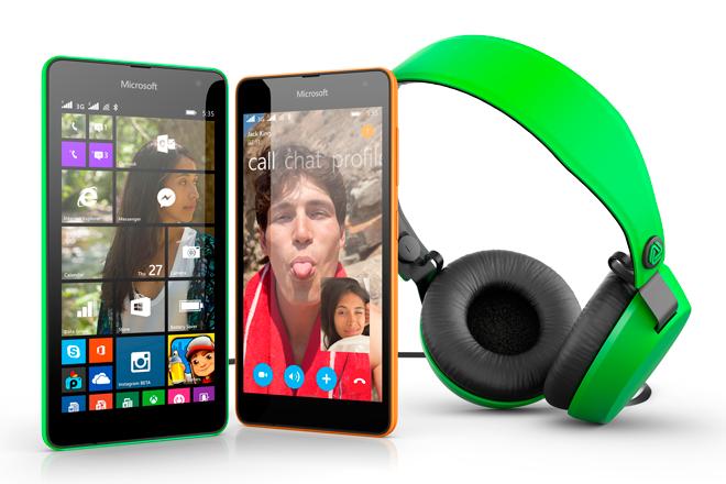 Microsoft Lumia 535 y Lumia 535 Dual SIM: Móviles 5x5x5