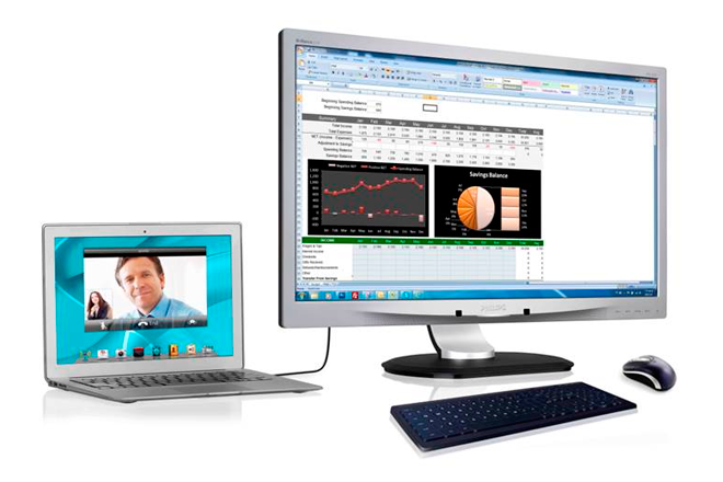 Monitor Philips USB Docking se renueva con IPS y Full HD