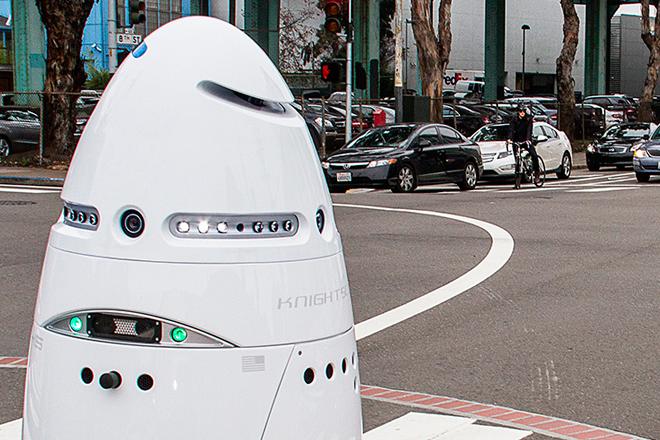 Robot K5 podría reemplazar al típico celador