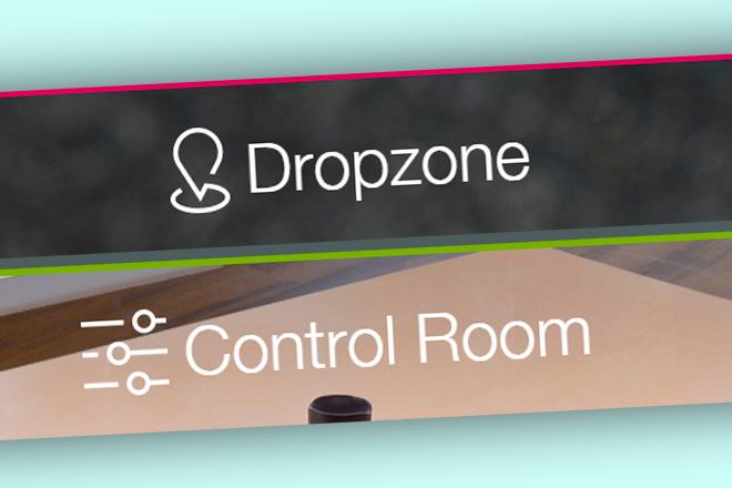 Wacom se estrena en la nube con Dropzone y Control Room