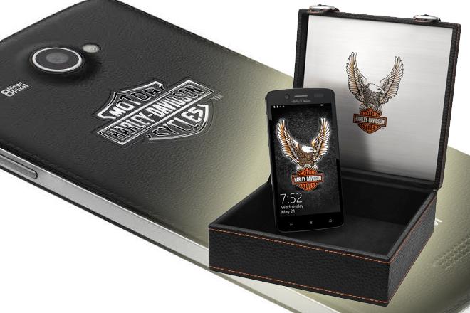 """NGM Harley-Davidson: Smartphone """"alma rebelde"""" Dual SIM"""