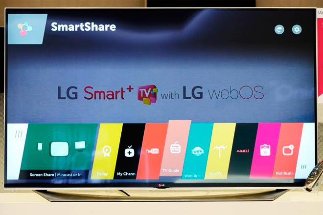 Lo nuevo de webOS 3.0 de LG: control con zoom en directo, grabación USB y música streaming
