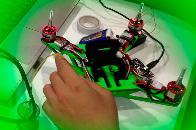 FabDrone: El dron lowcost desarrollado con impresión 3D
