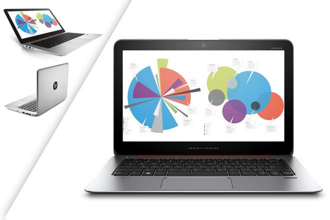 HP ha dejado ver a sus finos y ligeros portátiles profesionales