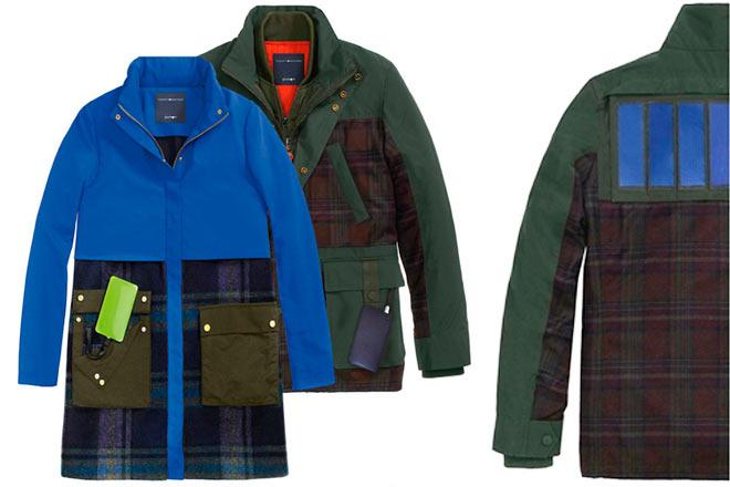 Podrías cargar tu smartphone con una chaqueta Tommy Hilfiger