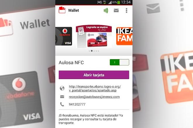 Vodafone Wallet: Loroño apunta al pago de buses con el móvil