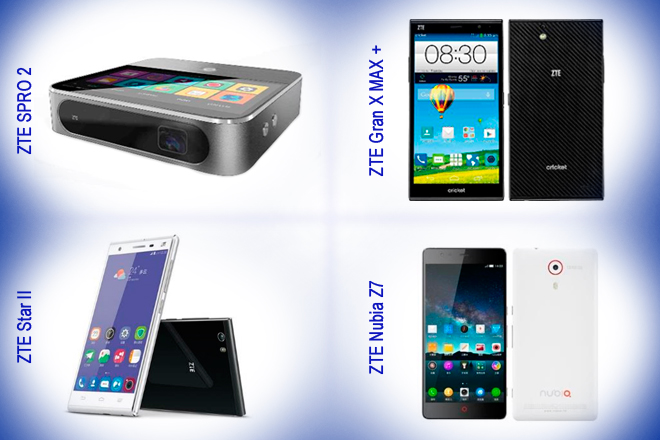 CES 2015: ZTE presenta interesante cuarteto de dispositivos