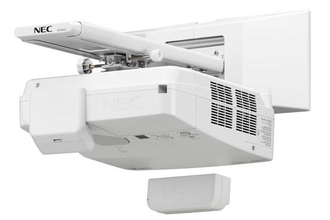 NEC lanza innovadores proyectores de ultracorta distancia