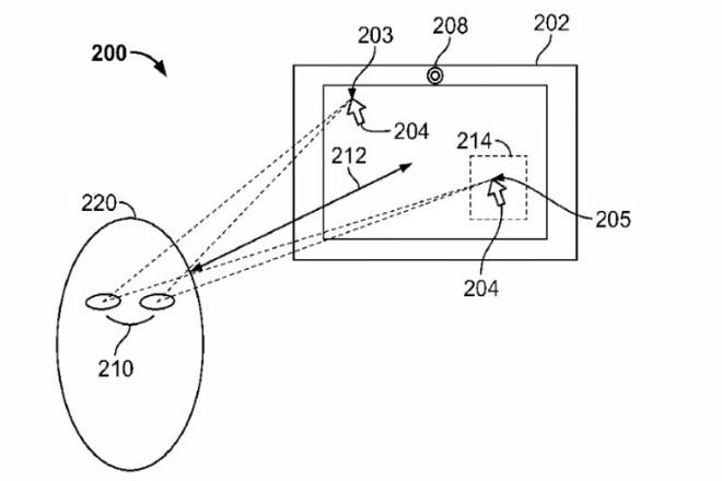 Apple patentó un sistema de seguimiento ocular para controlar dispositivos