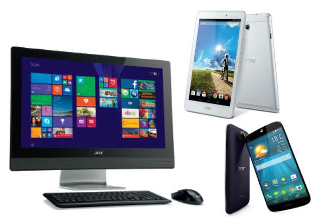 Acer apuesta a los PCs y portátiles para crecer en 2015
