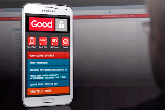 Good for Samsung KNOX: Seguridad, productividad y movilidad
