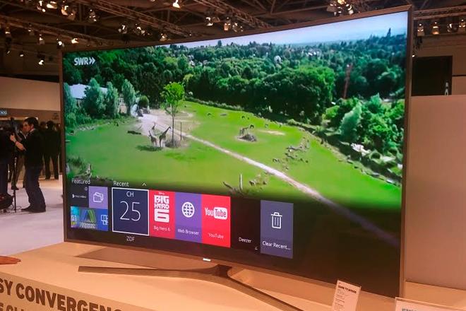 Samsung apuesta por Tizen para su nueva gama de Smart TV