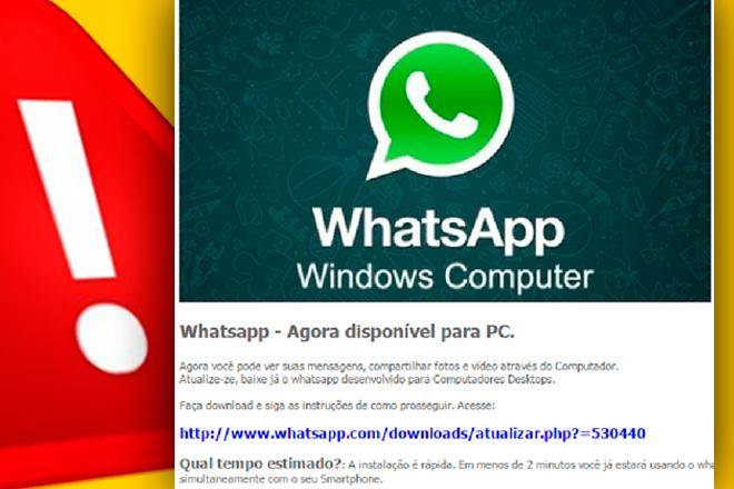 Cibercrimen: WhatsApp Web es la nueva carnada