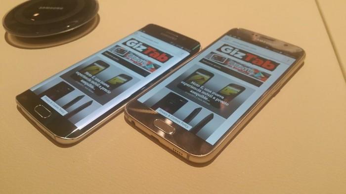 Samsung Galaxy S6 y Samsung Galaxy S6 edge frente a frente: Infografía