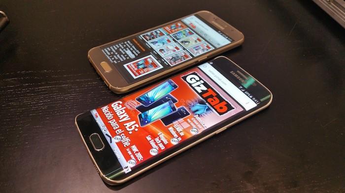 Batalla entre Samsung: Galaxy S6 vs. Galaxy S7