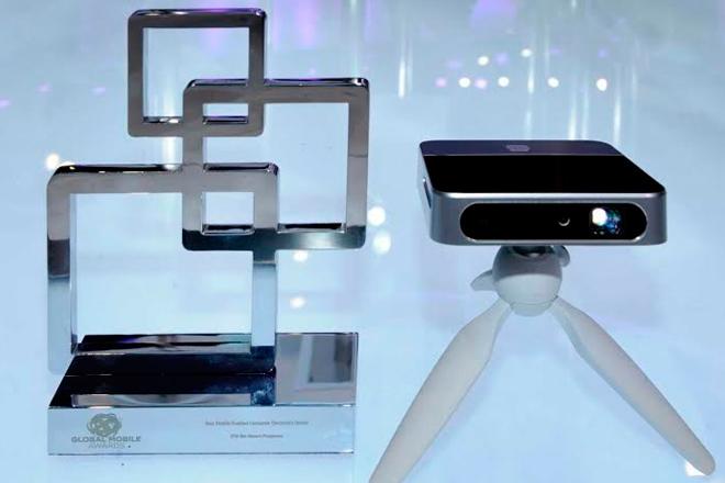 MWC15-ZTE-SPRO-2-proyector-especificaciones-fotos-premio-trofeo