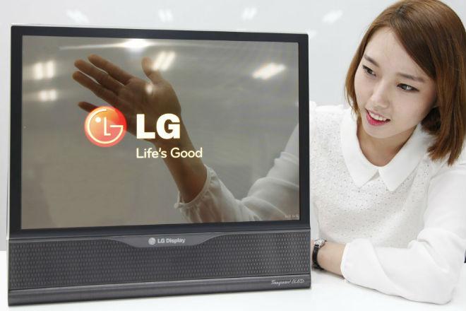 LG y Samsung siguen en la carrera por las pantallas transparentes y flexibles