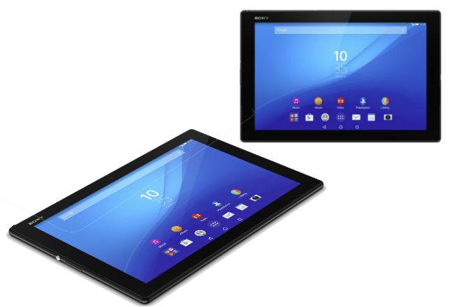 MWC15: Sony Xperia Z4 tablet ofrece hasta 17 horas de autonomía