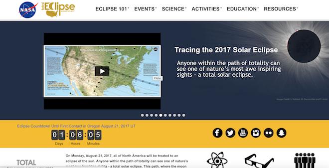 ver el eclipse solar