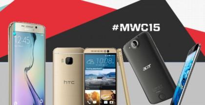móviles del MWC