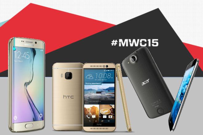 Los 5 mejores móviles que nos dejó el MWC 2015