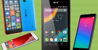 móviles más baratos del MWC