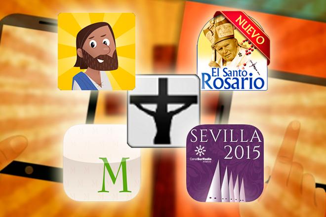 5 aplicaciones para vivir la Semana Santa desde tu móvil