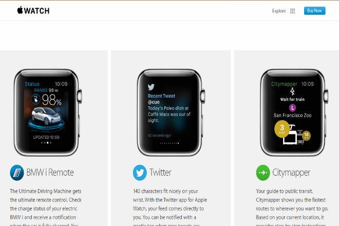 Así es la tienda de aplicaciones de Apple Watch