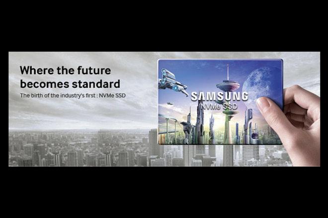 Samsung inicia la producción de los primeros discos SSD NVMe con formato M.2 para PCs