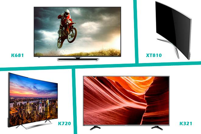 Hisense ha dejado ver a sus nuevos televisores 4K 3.0
