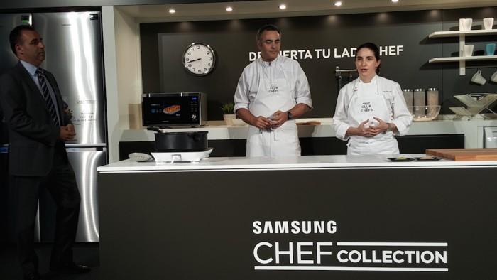 Samsung Chef Collection llega a España con Elena Arzak como madrina de lujo