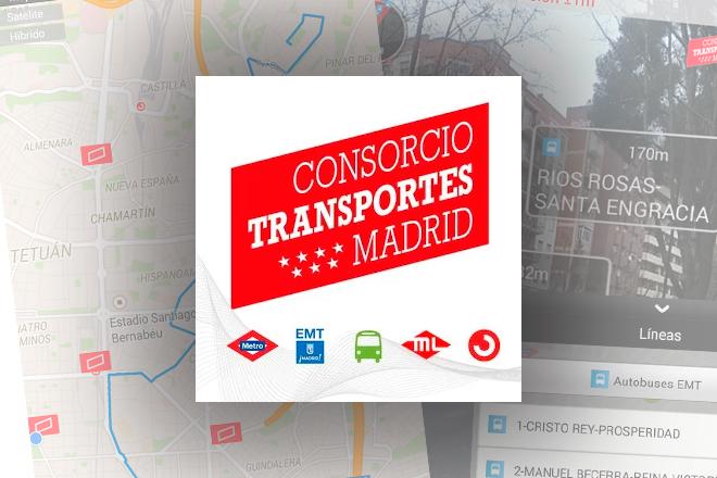 Con esta app puedes seguir todo el transporte p blico de for Oficinas del consorcio de transportes de madrid puesto 2