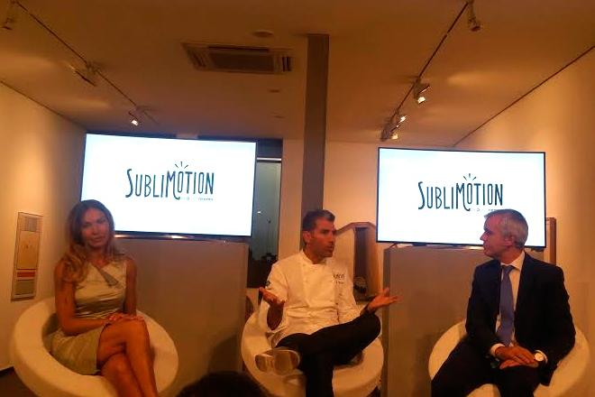 Sublimotion: tecnología, arte y gastronomía