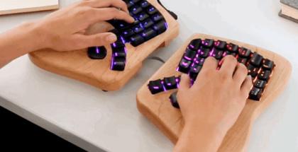 Así es Model 01 …y podría ser el teclado del futuro