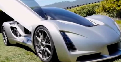 Desarrollan coche deportivo con impresión 3D