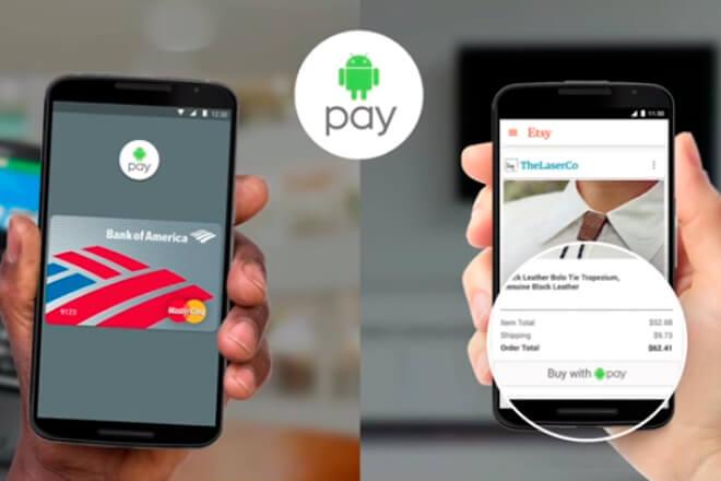 Android Pay llegará a España este año