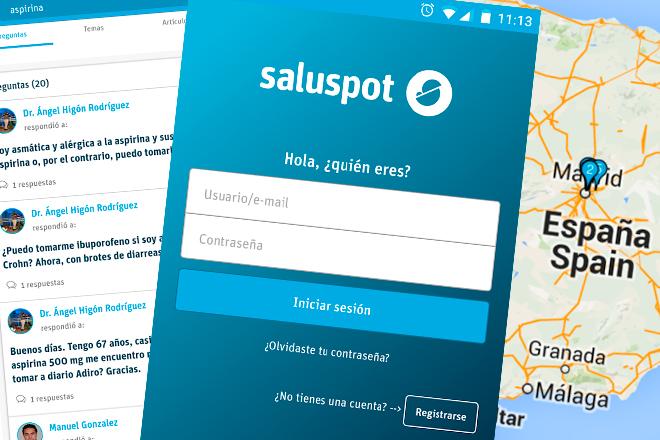 Saluspot: aplicación para consultas médicas desde tu móvil