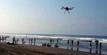 Drones salvavidas de Vodafone asistirán a socorristas en las playas españolas